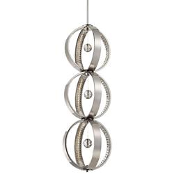 Winter Solstice 3-Light LED Pendant