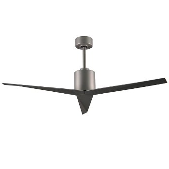 Shown in Brushed Nickel finish and Brushed Nickel blades