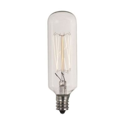 40w 120v e12 t8 carbon filament bulb - Decorative Light Bulbs