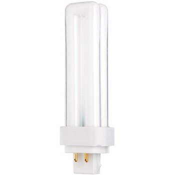 13W 120V T4 G24q-1 Quad Tube CFL 3000K