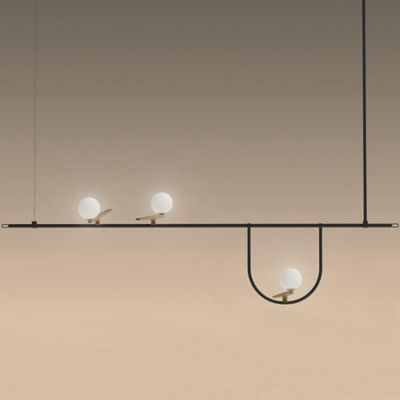 Linear Long Rectangular Chandeliers Lumens