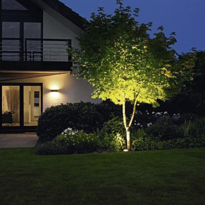Landscape lighting well lights