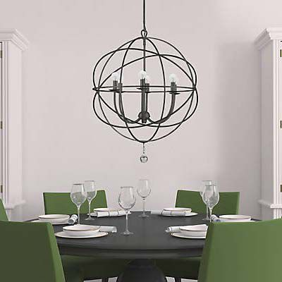 Dining Room 10 Chandeliers Under $500