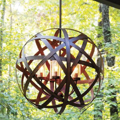 Delightful Outdoor Chandeliers