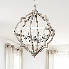 Chandeliers & Linear Suspension Rustic