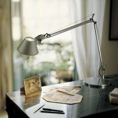 Artemide Desk, Clamp & Shelf Lamps