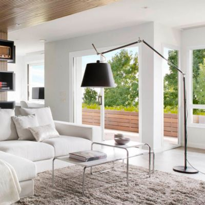 floor lamps reading swing arm arc floor lamps at lumens com rh lumens com living room floor lamps amazon living room floor lamps walmart