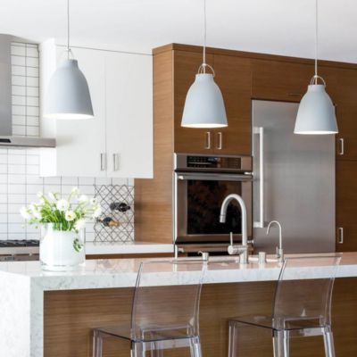 Pendant Lighting Pendants Hanging Lights Lamps At Lumenscom - Images of kitchen pendant lighting