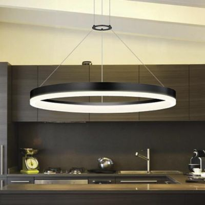 Contemporary Pendant Lighting Transitional