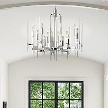 Chandeliers modern chandeliers suspension lights at lumens chandeliers entryway foyer aloadofball Choice Image