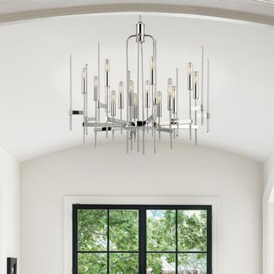 Foyer lighting modern entryway foyer light fixtures at lumens chandeliers aloadofball Choice Image